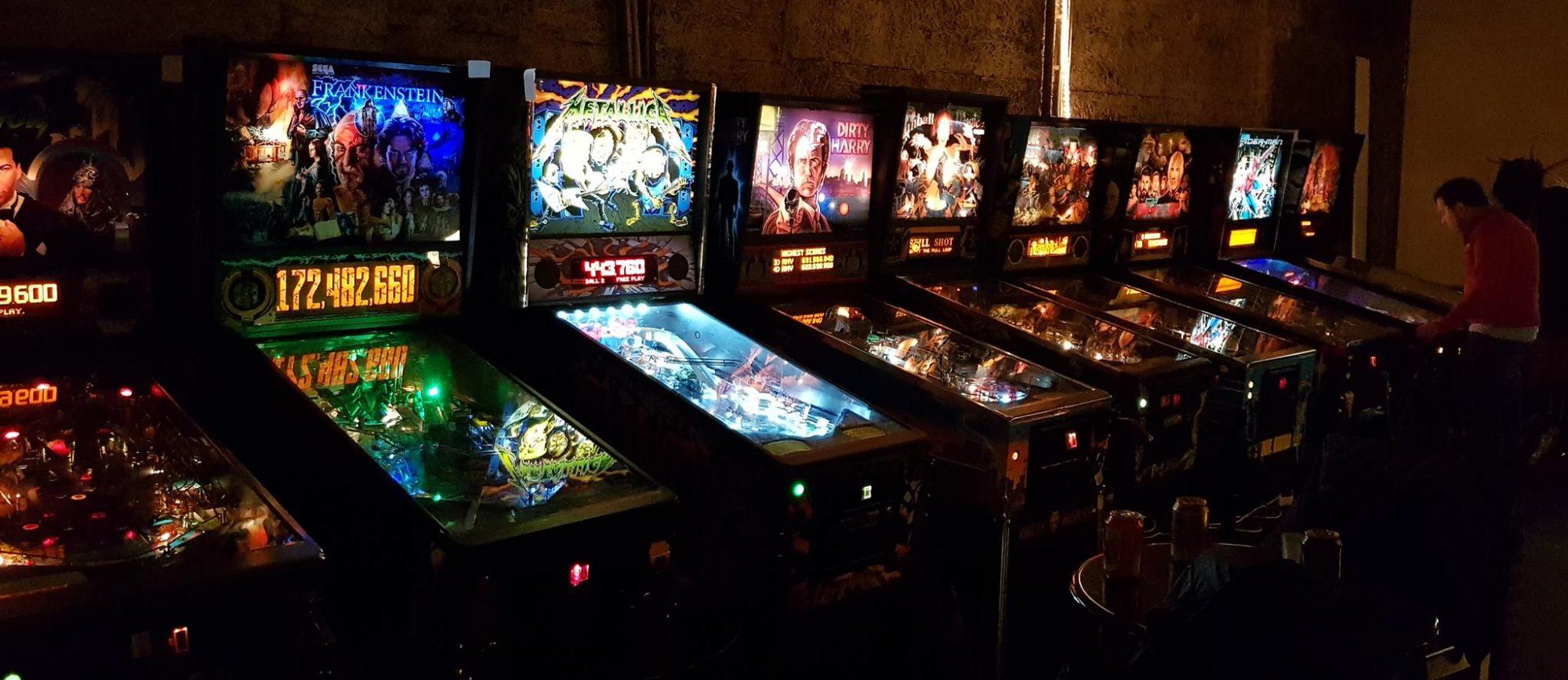 RePlay Pinball Arcade Malmö